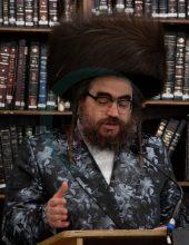 תיעוד ענק: הרב מסאטמר בלונדון