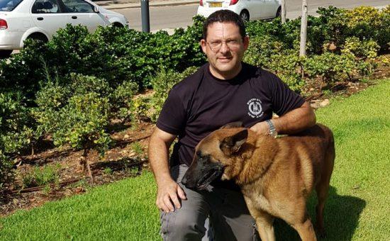 שוטר וכלב