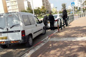 תיעוד: מעצר נהג 'פסול לנהיגה'