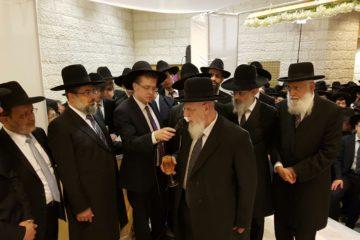 נשיא המועצת השיא את נכדתו: מאות רבנים, אישי ציבור וקהל רב הגיעו לאחל מזל טוב