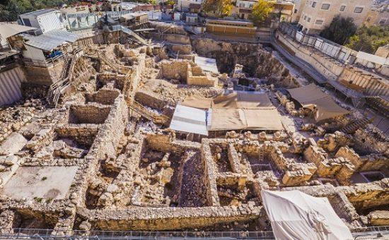 חפירות חניון גבעתי, צילום: קובי הראתי - ארכיון עיר דוד
