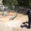 אשדוד: רקטה פגעה בחצר גן ילדים, אין נפגעים