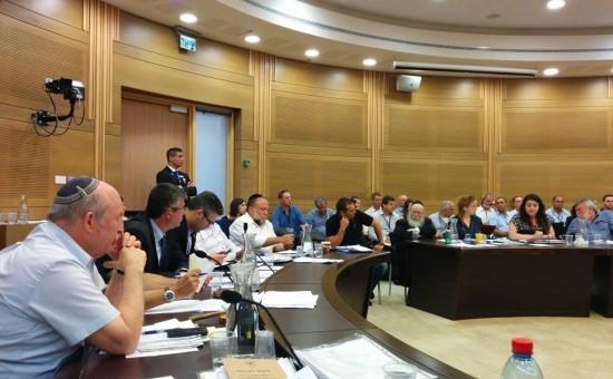 ועדת הכספים. צילום: פייסבוק - ניסן סלומינסקי