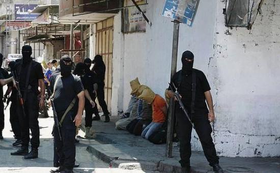 מחבלי החמאס. צילום: תקשורת פלסטינית