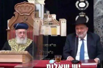 דרעי: בתי הכנסת יהיו פתוחים בחג