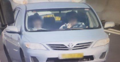 צפו: משטרת התנועה פשטה על כביש 1