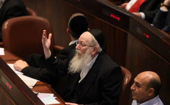 יעקב ליצמן. צילום: הכנסת