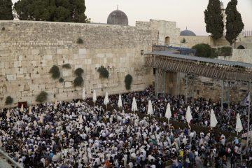 150,000 איש פקדו את הכותל המערבי בשבת ובתשעה באב