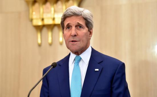 מזכיר המדינה האמריקני, ג'ון קרי