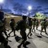 """עשרות מבוקשים נעצרו בפעילות צה""""ל הלילה"""
