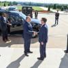 ליברמן נפגש עם מזכיר ההגנה והזמין אותו לביקור