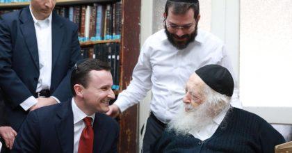 נשיא חטיבת התזונה של אבוט העולמית ערך ביקור חשוב בישראל
