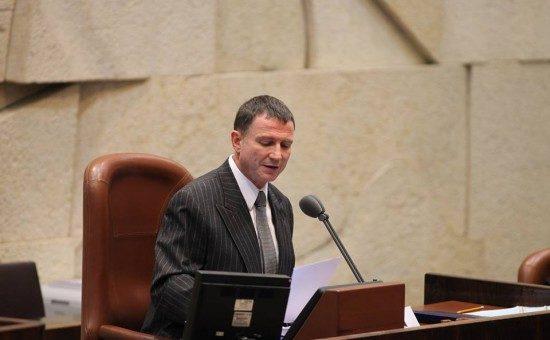 """יו""""ר הכנסת יולי אדלשטיין. צילום: הכנסת"""