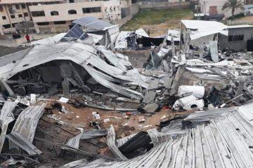"""מטוסי צה""""ל תקפו מתחמי טרור בעזה"""