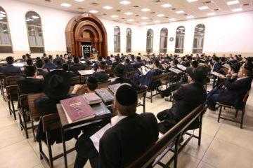 גלריה: ישיבת באר התורה למדו מאורחותיו של ר' שמואל רוזובסקי ויסדו כולל לזכרו