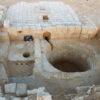 גת לייצור יין, בת כ-1600 שנה, נחשפה במועצה האזורית רמת נגב