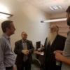 סגן השר מאיר פרוש  נפגש עם שגריר בריטניה דייויד קוורי