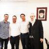 הנהלת חברת 'סלופארק' נפגשה עם ראש עיריית בני ברק הרב חנוך זייברט