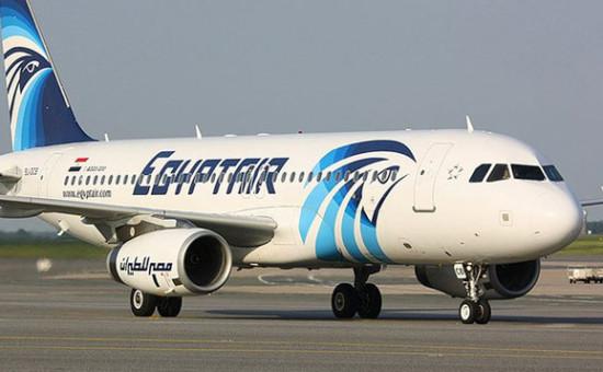 מטוס חברת אג'יפטאייר אילוסטרציה