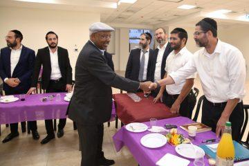 גלריה: חבר הכנסת נגוסה בבני ברק