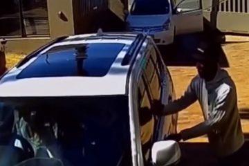 צפו: 'הגברת בג'יפ' שהניסה את השודדים