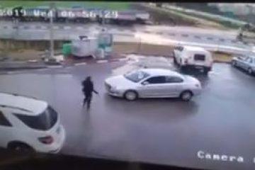 ביש מזל: ניסה לשדוד את הרכב