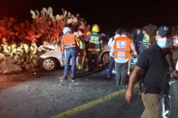 חרדית נהרגה בתאונה חזיתית