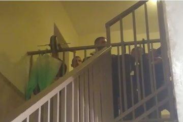 בפיג'מה: תיעוד מעצר עריק מ'הפלג'