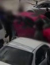 תיעוד: תקפו נהג כי 'הסתכל חזק מדי'