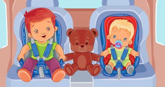 3 מתוך 4 כיסאות בטיחות לא מותקנים כראוי!