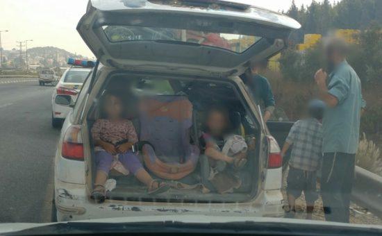9 נפשות ברכב משפחתי