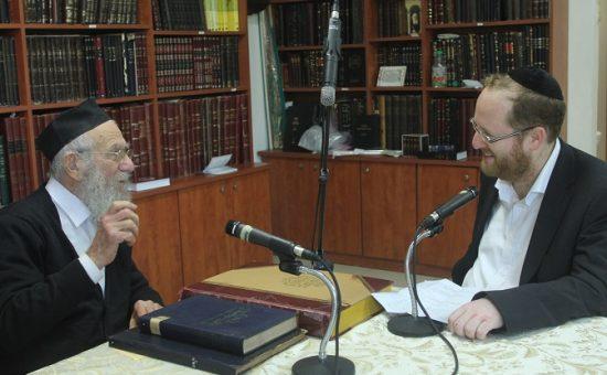 ראיון הרב אדלשטיין צילום גאולה גריידי