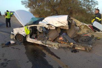 שני הרוגים בתאונת רכב פרטי ואוטובוס