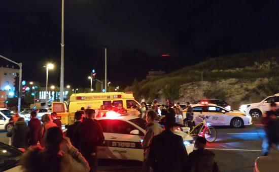 תאונה בירושלים