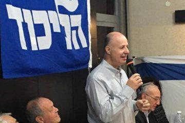 צחי הנגבי נגד סיפוח שטחים לישראל