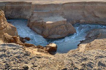 """""""המקום הכי יפה בישראל"""" – נהר באמצע המדבר"""
