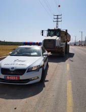 בן 17 נתפס נוהג במשאית עם משקל 52 טונות