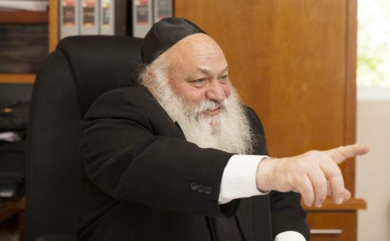 הרב יצחק  גולדקנופף
