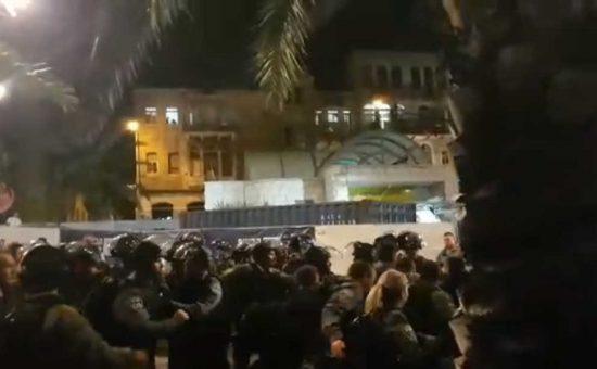 הפגנות בחיפה
