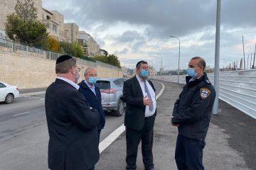 רמת שלמה: נציגי המינהל נועדו עם מפקד המשטרה