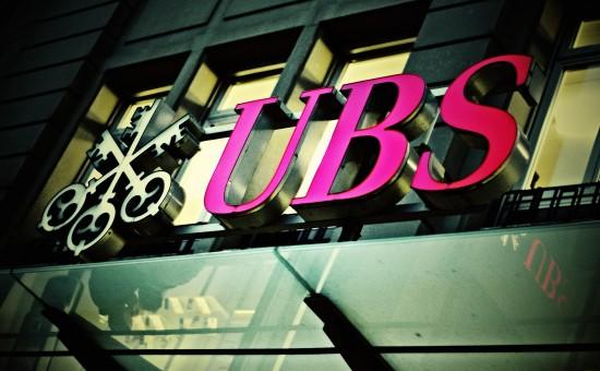 בנק UBS. צילום: Martin Abegglen