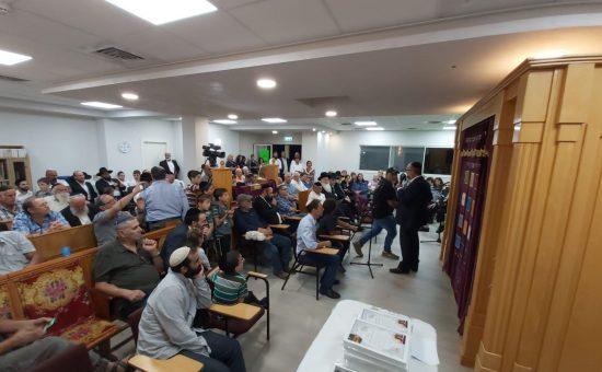 בית הכנסת בקיבוץ מגידו