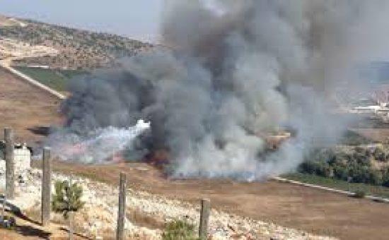 חיזבאללה ירה טיל נגד טנקים