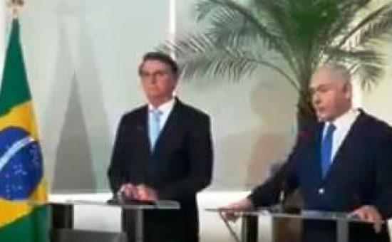 ראש הממשלה עם שגריר ברזיל