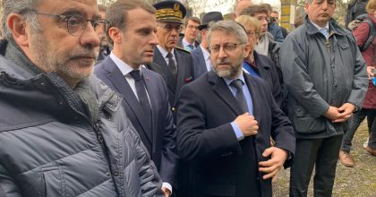 רבה של צרפת הגיע לבית העלמין שחולל