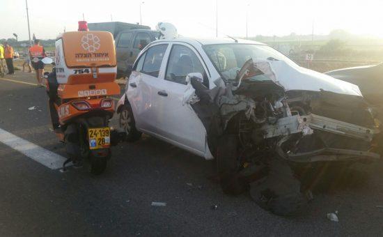 תאונה כביש 4