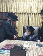 """חברי הכנסת הגיעו אל האדמו""""ר מקרעטשניף"""