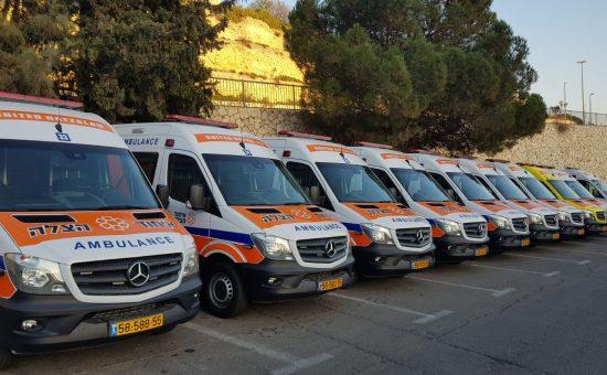 מאוד 600+600 • הוכפלו האמבולנסים בישראל - כל הזמן AO-25