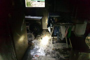 בית שמש: השריפה העירה את השכונה