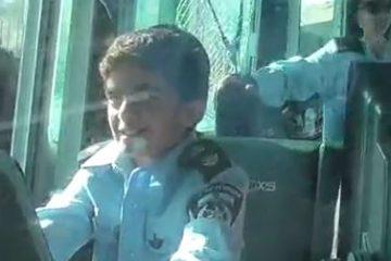 החרידם עם התמסונת הנדירה שהפך ל'קצין' בשיטור הימי